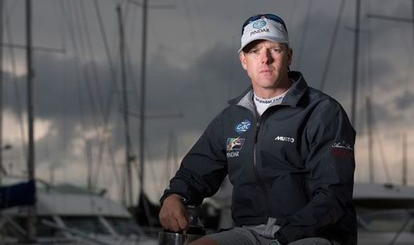 How Ian Williams won the first of his many world match racing titles