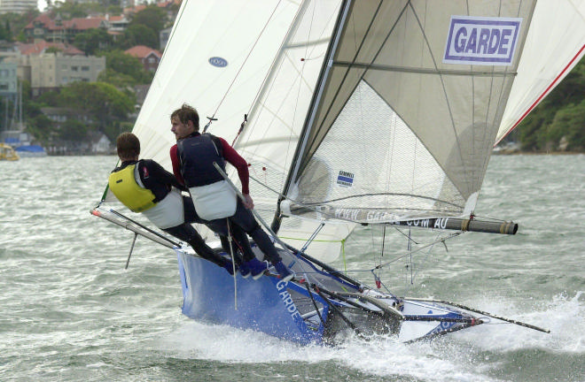 12ft Skiff in Sydney Harbour