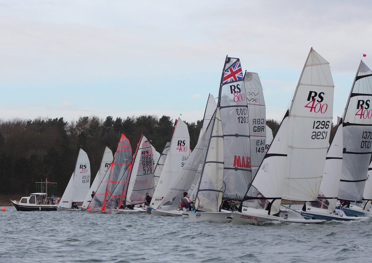 Eight events in the GJW Direct SailJuice Winter Series 2014/15