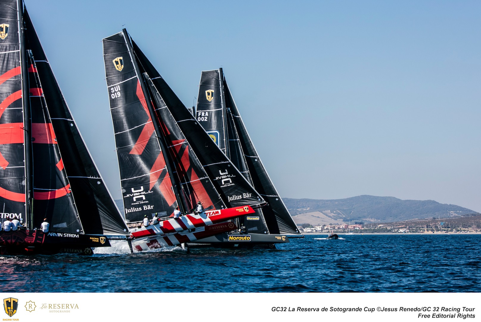 Team Tilt on the edge of control in the GC32
