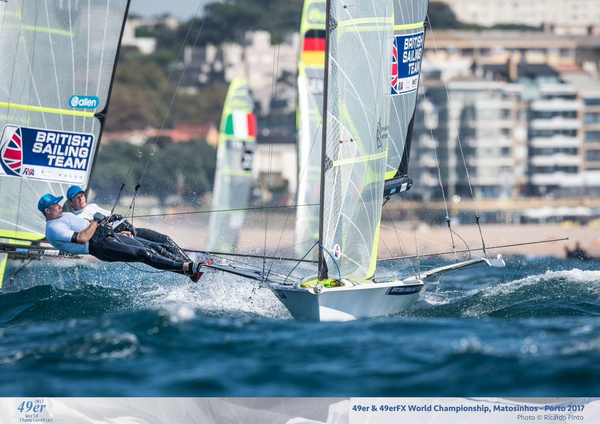 Fletcher and Bithell winning the Worlds in Portugal