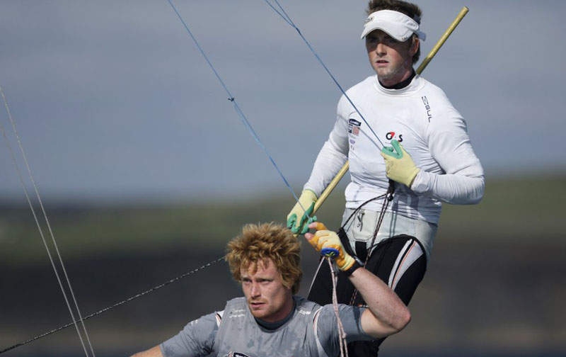 GBR 49er Team - Stevie Morrison and Ben Rhodes